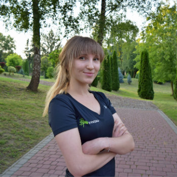 personal trainer Magda